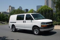 2013 Chevy Express van