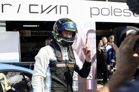 170429 Wtcc at Monza. Polestar Cyan Racing.