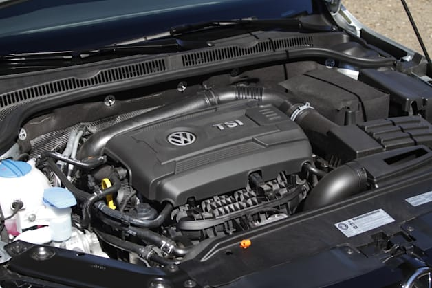 2014 VW Jetta SE 1.8-liter turbo engine