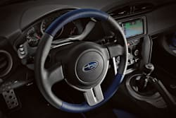 2015 BRZ Series Blue Special Edition interior