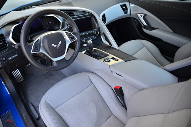 2014 Chevy C7 Corvette Stingray interior