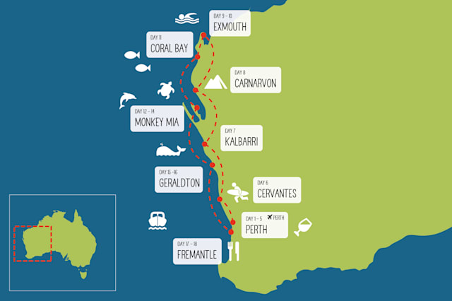 Coral Coast itinerary