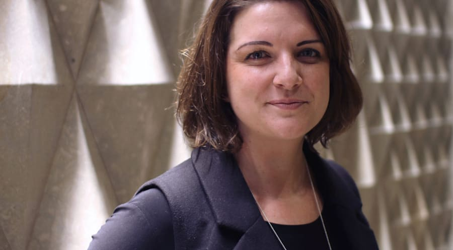 Louise Laing, who now works as a manger for a tourism agency, was bullied in her first job by a mid-level