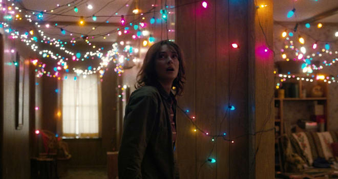 Winona Ryder as Joyce Byers in Netflix's STRANGER THINGS