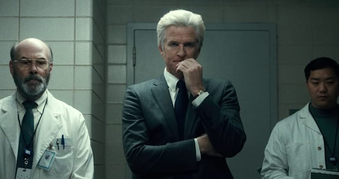 Matthew Modine as Dr. Brenner in Netflix's STRANGER THINGS