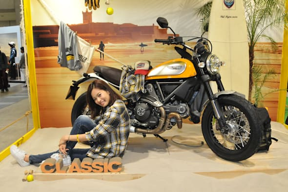 TOKYO MOTORCYCLE SHOW 2015 DUCATI