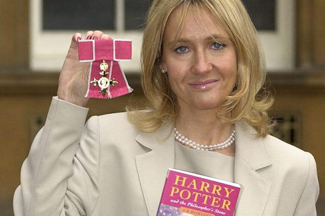 London Investiture Rowling