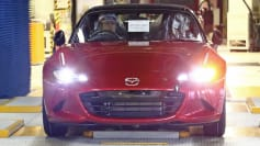 2016 Mazda Miata production launch