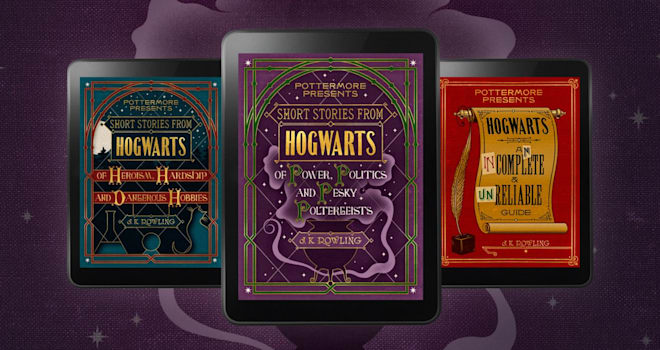 harry potter, new stories, new ebooks, j.k. rowling, pottermore