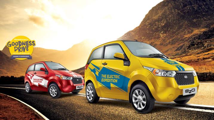 Mahindra Reva Goodness Drive promo image