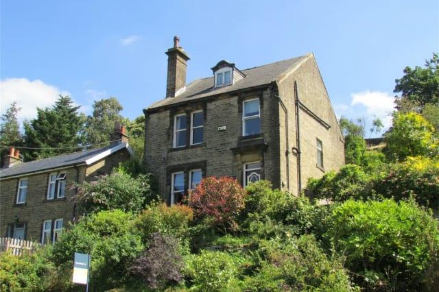 The Holmfirth house
