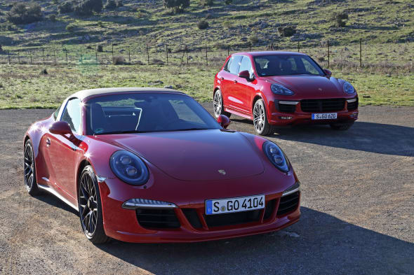 Porsche GTS Experience 2015
