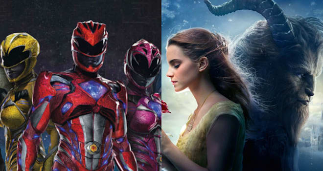 Here's How 'Power Rangers' and 'Beauty and the Beast Crushed It at the Box Office