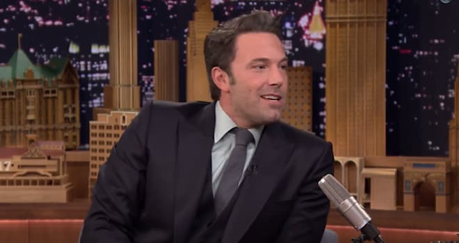 Ben Affleck, The Tonight Show, Jimmy Fallon