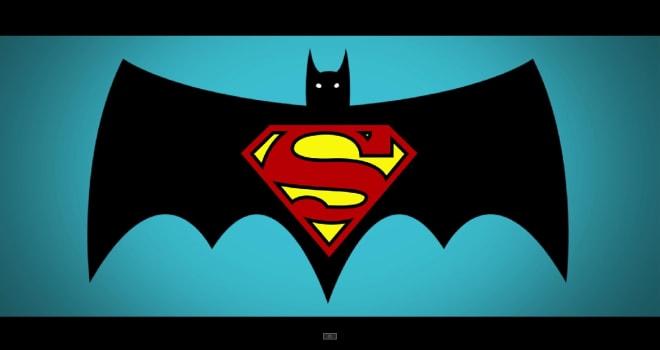 Batman v Superman, retro trailer
