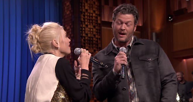 Gwen Stefani, Blake Shelton, Tonight Show, Lip Sync Battle