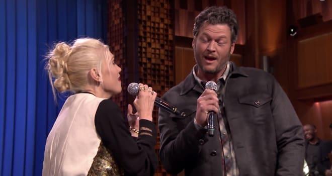 Gwen Stefani, Blake Shelton, Tonight Show, Lip Sync Battle