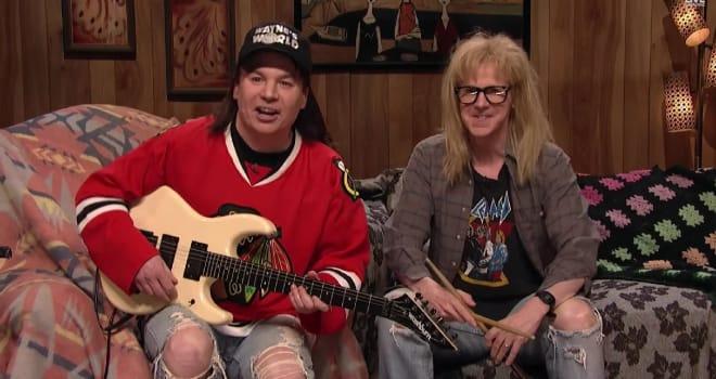 Wayne's World, SNL 40