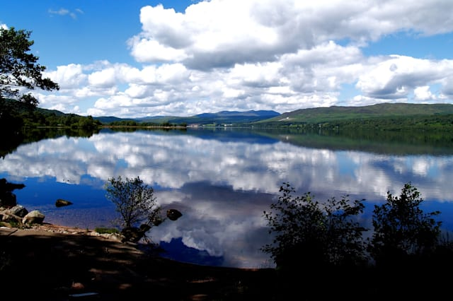 View of the loch