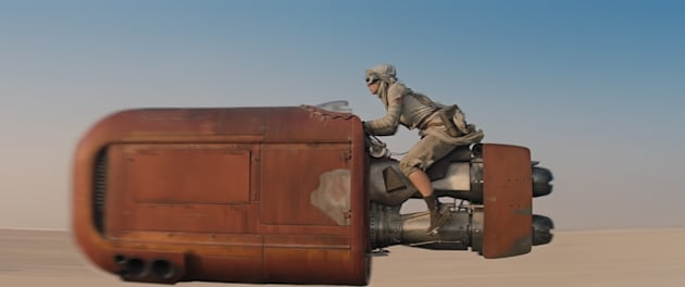 Star Wars: The Force AwakensRey (Daisy Ridley)Ph: Film Frame© 2014 Lucasfilm Ltd. & TM. All Right Reserved.