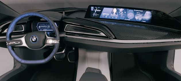 Bmw S Concept Car Puts Next Gen Interior In A Sports Car