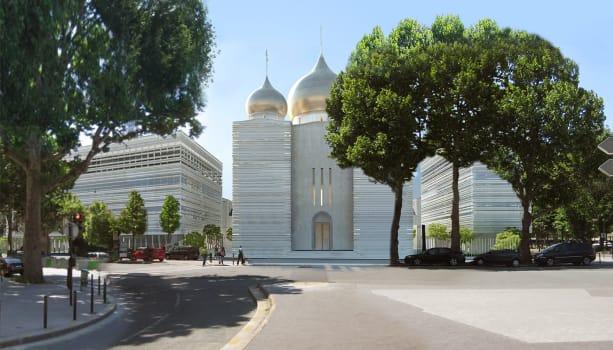 Vladimir Poutine à Paris: Comment la Russie a réussi à construire l'imposante église orthodoxe qu'il...
