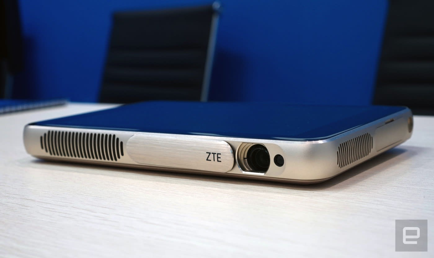 ZTE's Android projector/tablet combo is crazy like a fox