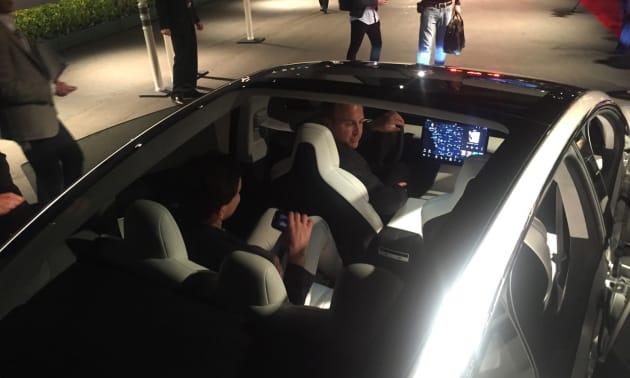 Cruising around in the Tesla Model 3 | Engadget