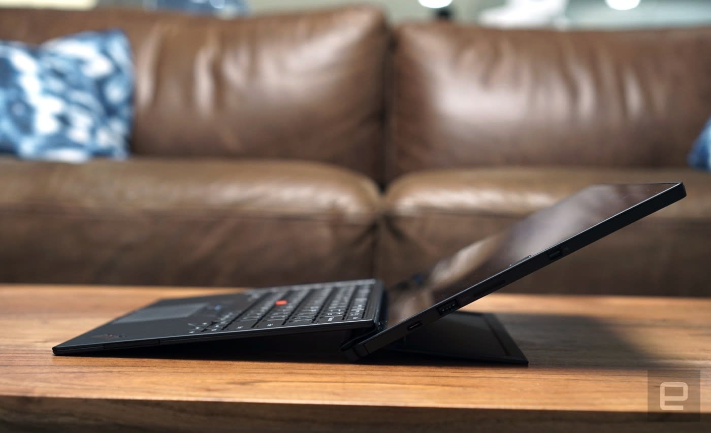 The ThinkPad X1 Tablet is like a Surface with a business twist