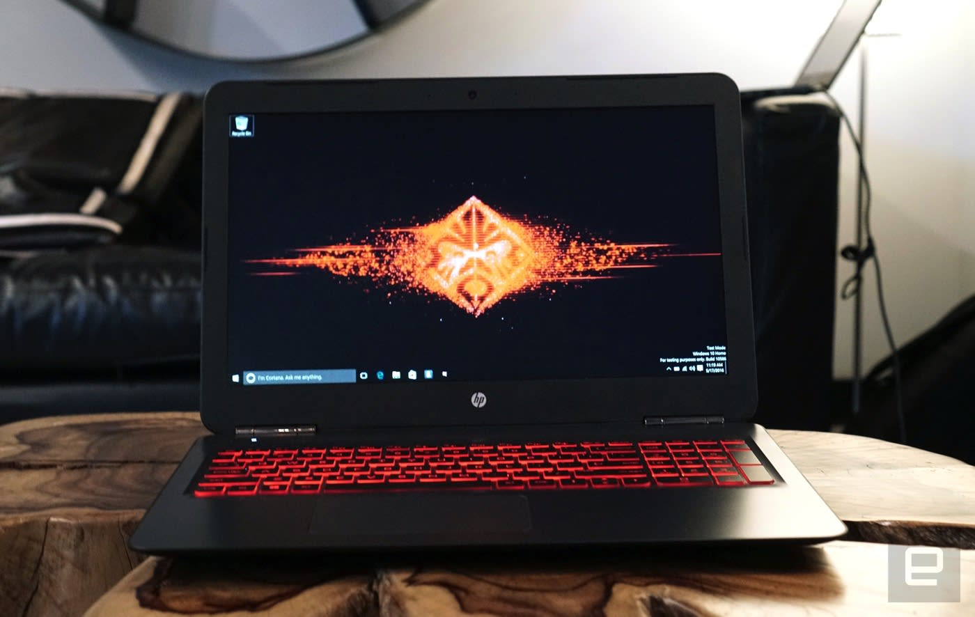 Hp goes big on gaming with new omen laptops and desktop for Portent vs omen