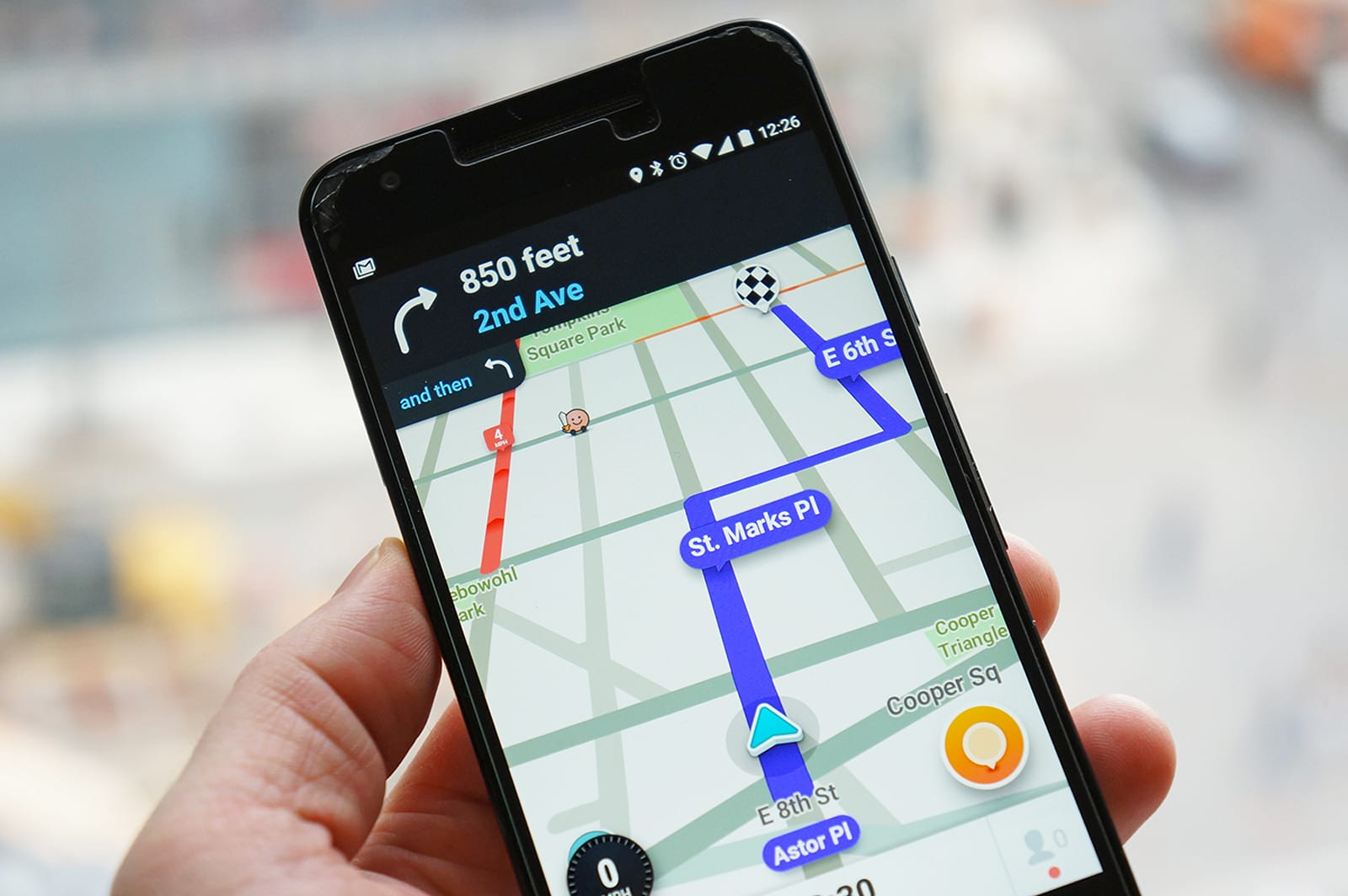 Waze sends real-time accident data to drivers and first responders