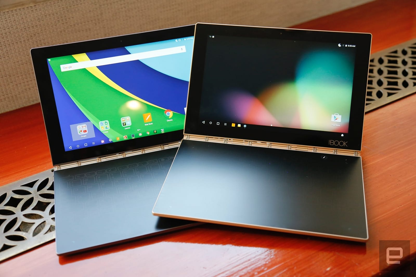 Lenovo S Yoga Book Is Part Tablet Part Sketch Pad Engadget