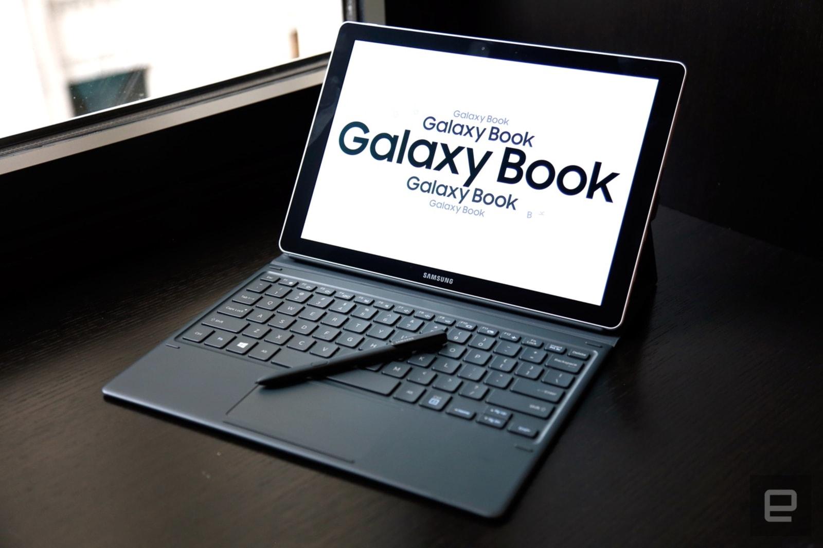 samsung 39 s galaxy book crams desktop power in portable body. Black Bedroom Furniture Sets. Home Design Ideas
