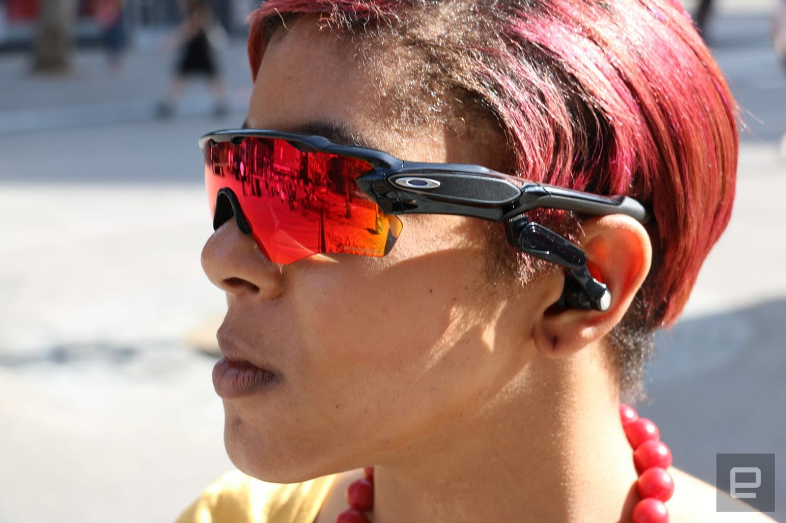 Oakley Running Sunglasses  oakley and intel s sunglasses put a personal trainer in your ears