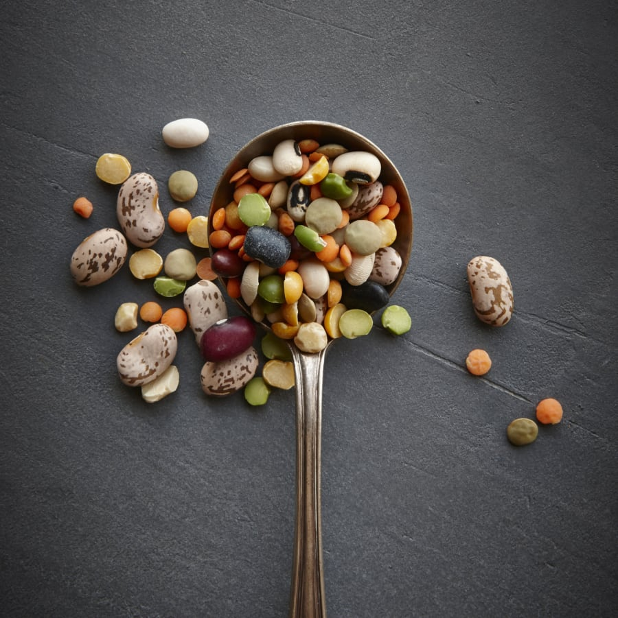 Legumes are a great source of protein, as well as gut-healthy