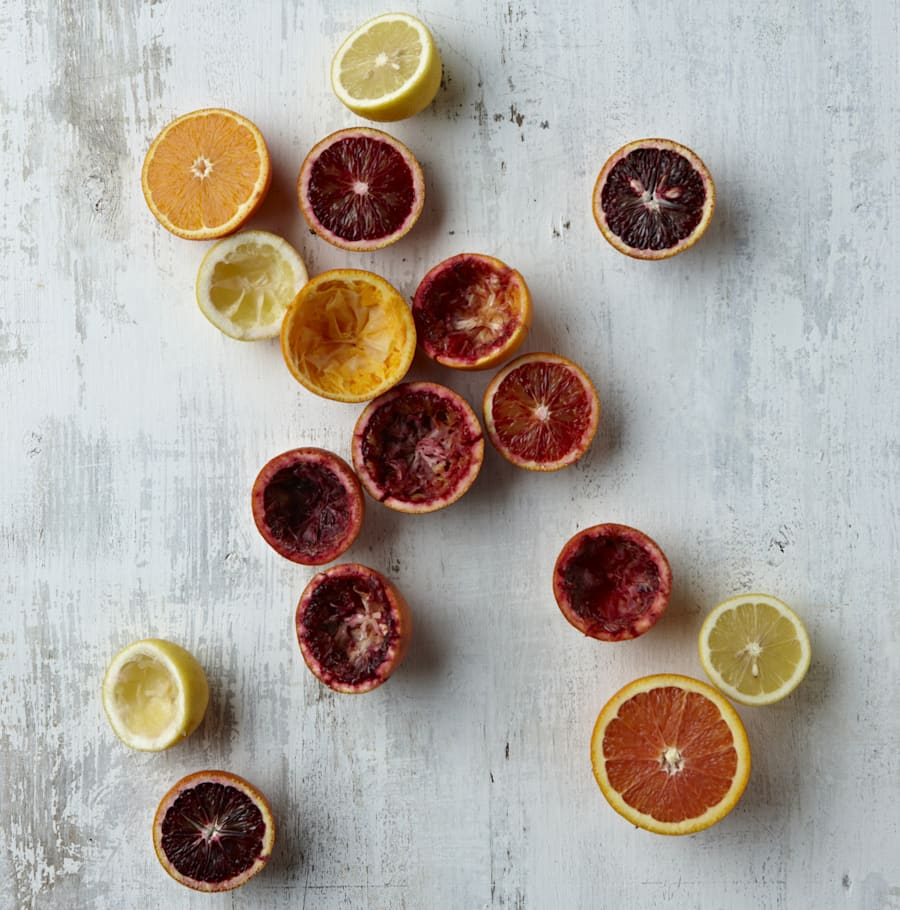 Blood oranges, mandarins, lemons, limes, tangelo... There's a whole range of citrus you can