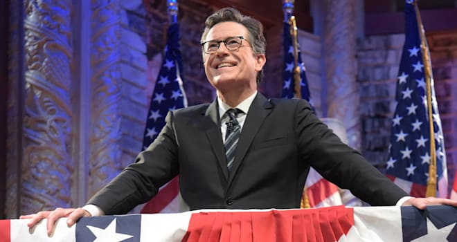 """CBS's """"The Late Show with Stephen Colbert"""" - Season One"""