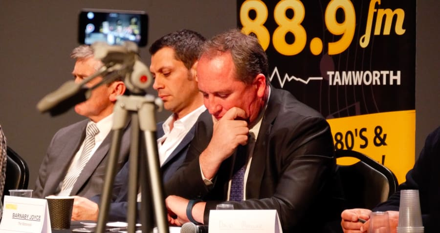 Barnaby Joyce is a busy man -- his commitments as Deputy Prime Minister and as National's leader has...
