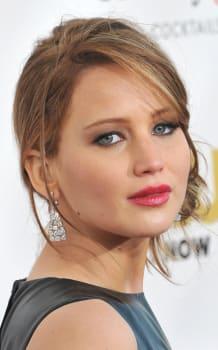 SANTA MONICA, CA - JANUARY 10, 2013: Jennifer Lawrence at the 18th Annual Critics' Choice Movie Awards at Barker Hanger, Santa M