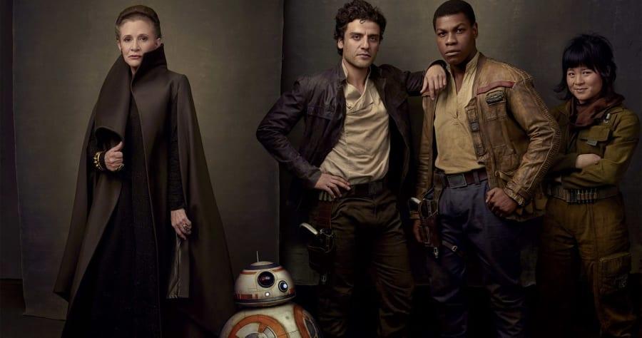 Here Are More 'Star Wars: Last Jedi' Details, Plus Pics of Laura Dern and Benicio del Toro