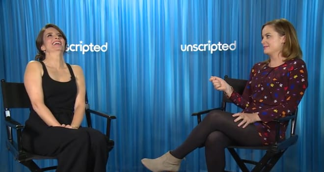 Watch 'Sisters' Stars Tina Fey and Amy Poehler Go 'Unscripted'