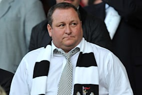 File photo dated 16/08/10 of Newcastle United owner Mike Ashley who's sportswear group Sports Direct International has sold its  near-5% stake in Debenhams days after making the share swoop. PRESS ASSOCIATION Photo. Issue date: Thursday January 16, 2014. Sports Direct International has instead struck a complex financial arrangement giving it the option to take a 6.6% stake in Debenhams amid speculation he is lining up celebrity-sponsored sportswear ranges for the chain.Sports Direct raised eyebrows on Monday when it emerged the group had bought a 4.6% stake in Debenhams, worth around ?46 million, in the wake of the department store's recent profits warning after disappointing Christmas trading. See PA story CITY Debenhams. Photo credit should read: Owen Humphreys/PA Wire