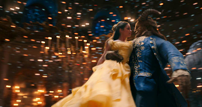 beauty and the beast, trailer, views record, 24 hours