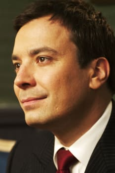 Jimmy Fallon is seen backstage at 'Late Night with Jimmy Fallon' on May 13, 2010. Photo by Maggie Coughlan, PopEater.