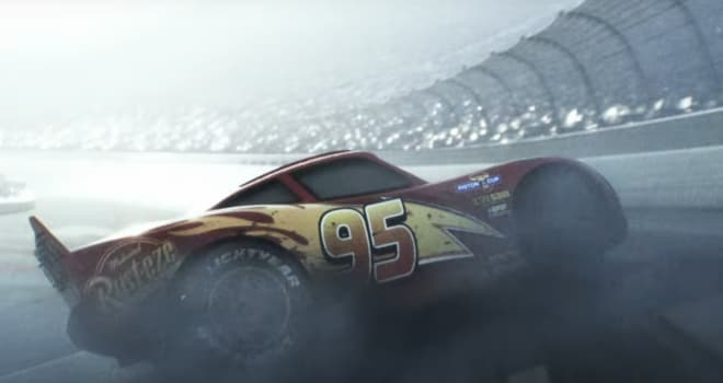 cars 3, teaser, trailer, lightning mcqueen