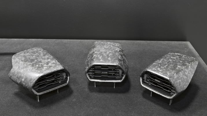 Lamborghini Huracan forged carbon fiber vents