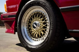 1989 BMW 535 CSi BBS wheel