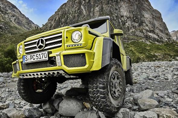 Mercededes-Benz G550 4x4²