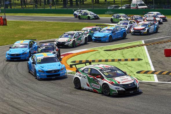 2017 EVENT: Race of Italy TRACK: Autodromo Nazionale di Monza TEAM: Castrol Honda World Touring Car Team CAR: Honda Civic wtccDRIVER: Tiago Monteiro
