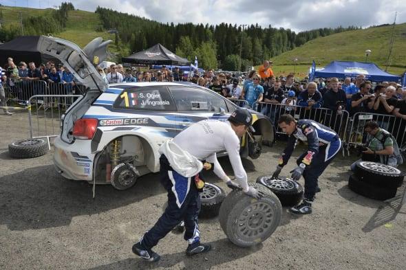 Sébastien Ogier (F), Julien Ingrassia (F)Volkswagen Polo R WRC (2015)WRC Rally Finland 2015